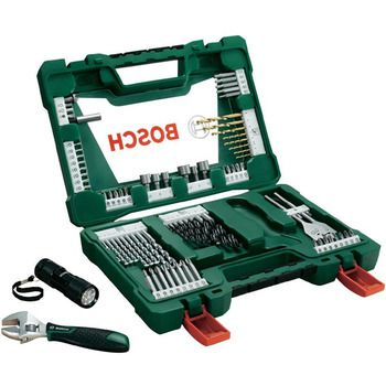 Bosch V-LINE TiN Drill and Bits Set 83pcs
