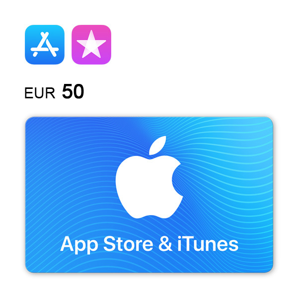 App Store & iTunes Gift Card €50 Image
