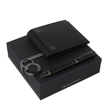 Christian Lacroix Wallet, Keyring and Pen Gift Set