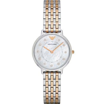 Emporio Armani KAPPA Ladies Watch - Steel Strap