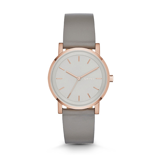 DKNY Soho Ladies Watch NY2341 with Leather Strap Image