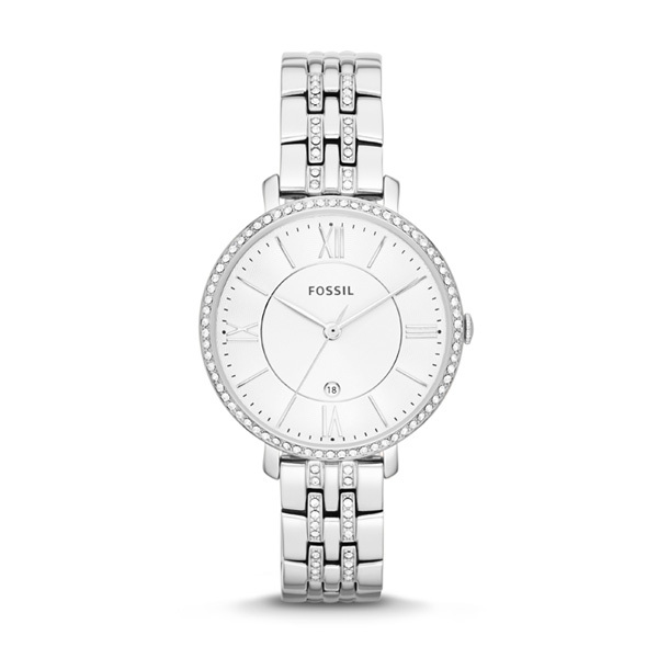 Fossil JACQUELINE Ladies Watch ES3545 with Crystals Image