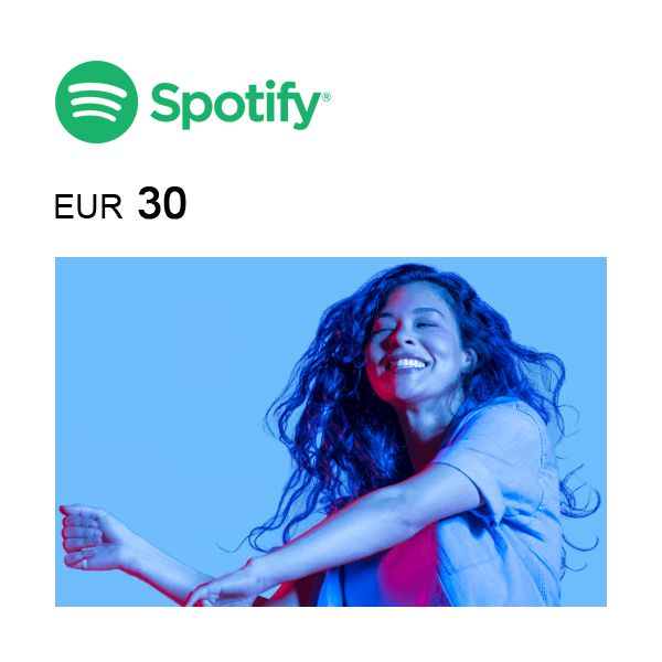 Spotify eGift Card €30 Image