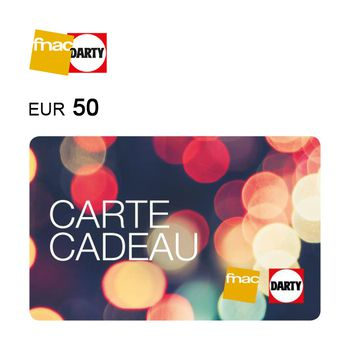 Fnac Darty e-Gift Card €50