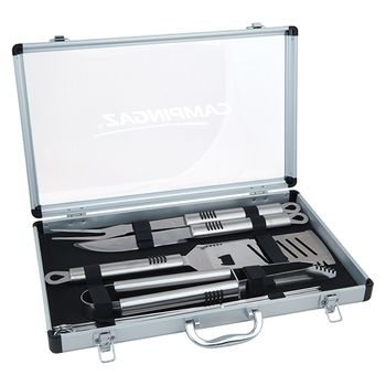 Campingaz BBQ-Tools in Aluminium Case