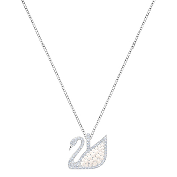 Swarovski ICONIC Swan Medium Pendant Necklace