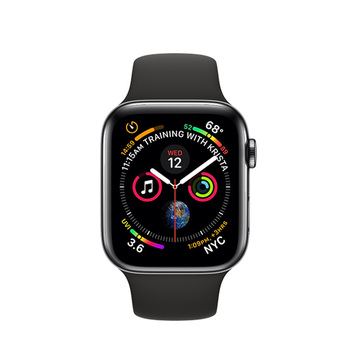 Apple Watch Series 4 GPS+Cellular in Steel 40mm − Sport Band