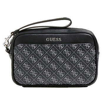 Guess MANHATTAN Logo Print Vanity Case