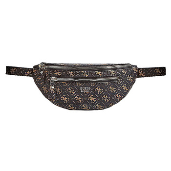 Guess LEEZA Logo Print Belt Bag