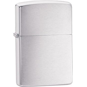 Zippo Lighter Brushed Chrome